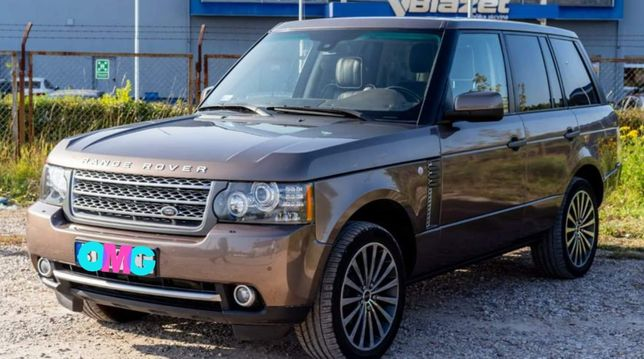 Range Rover Vogue Autobiography/virtual liczniki/lift/4x4/zamiana
