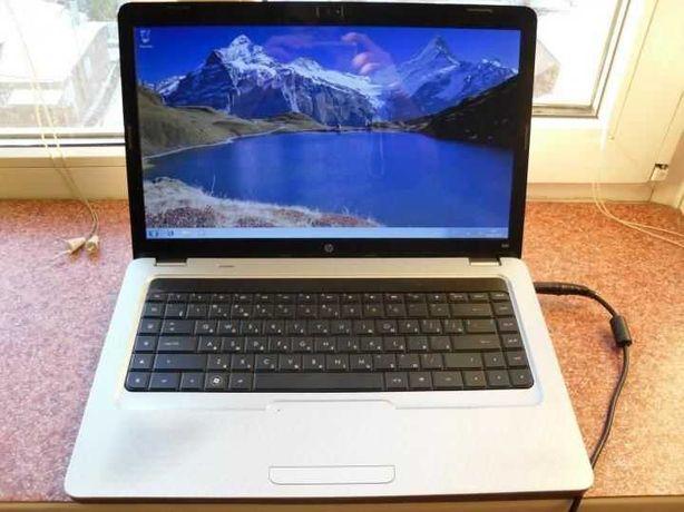 Серебренный, как новый! 4-х ядерный ноутбук HP G62