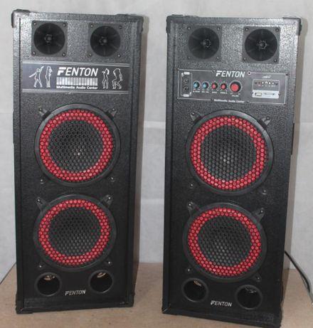 Мощные активные колонки Fenton SPB-28 .800 Вт .4 по 20 см.USB .