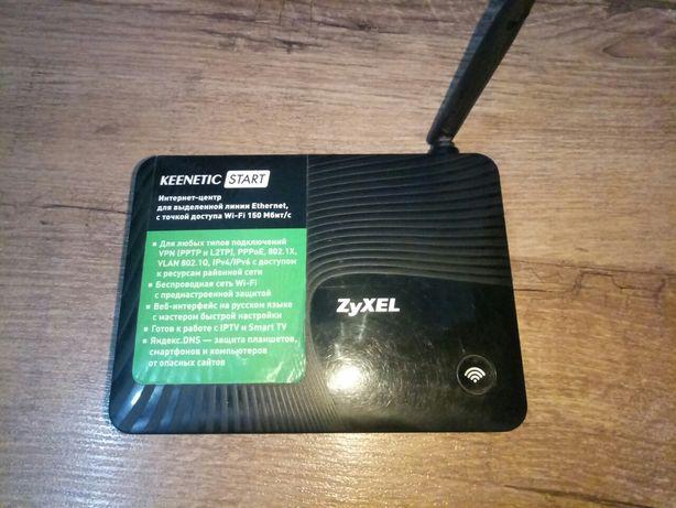 Wi-Fi роутер zyxel keenetic start
