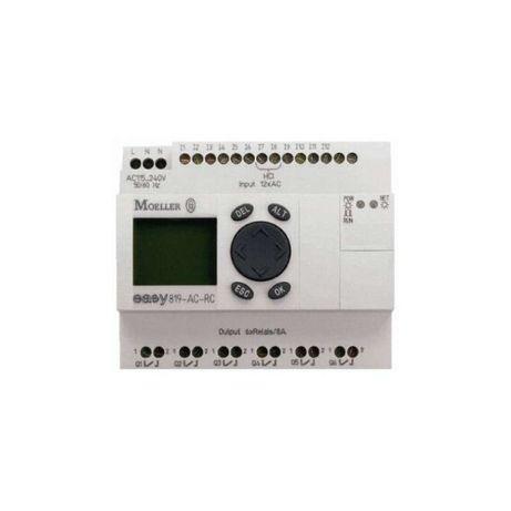 Przekaźnik programowalny Easy 819-DC-RC + zasilacz Easy 200-POW