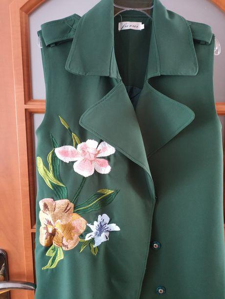 Trenczowa sukienka, sukienka