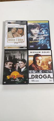 Polskie filmy zestaw DVD Ziemia obiecana Droga Noce i Dnie Piegusa
