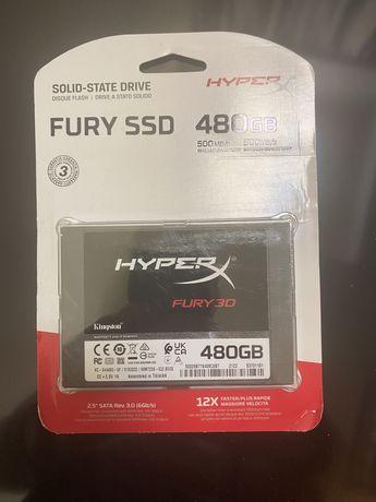 Ssd Kingston hyper x 480 gb