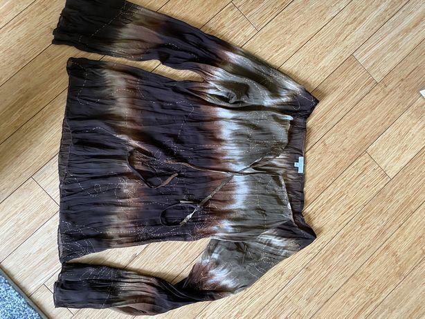 Śliczna transparentna bluzeczka marki SOLAR , w pięknych kolorach M