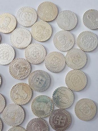 Mais de 30 moedas grandes figuras portuguesas