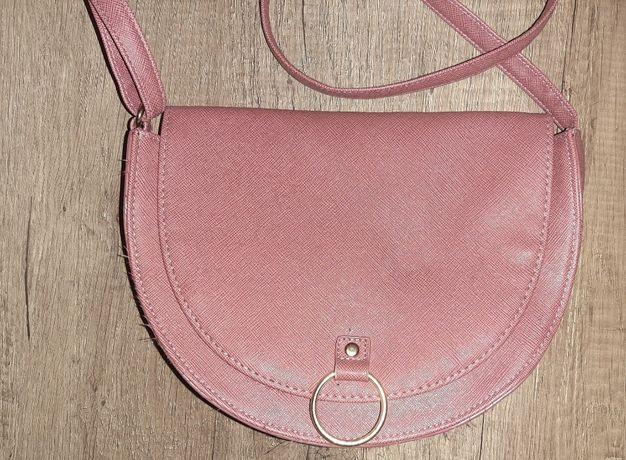 Różowa torebka Soffi Avon Nowa bez metki Wysokość: 16,2 cm Szerokość s