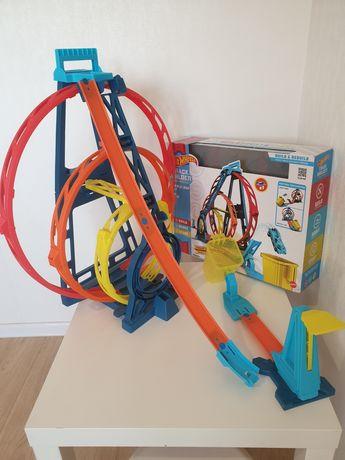 Hot wheels track  Triple loop kit