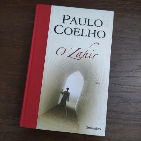 "Livro ""O Zahir - Paulo Coelho"""