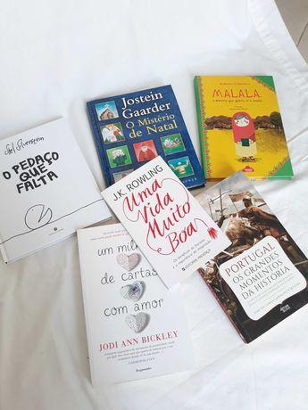 Lote livros novos/semi novos e usados leitura adulto e infantil