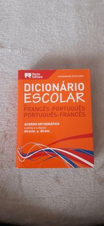 Dicionário francês-português e português-francês da Porto editora