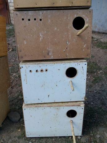 Дуплянки (домики для попугаев)