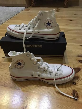 Converse all star, białe, rozmiar 38
