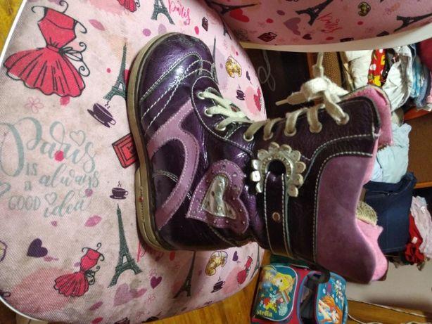 Демисезонные сапоги девочке Mimy, 29 размер