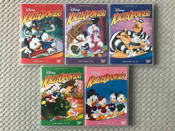"""""""Kacze Opowieści 1-5"""" - 5 DVD z kreskówkami Walta Disneya"""