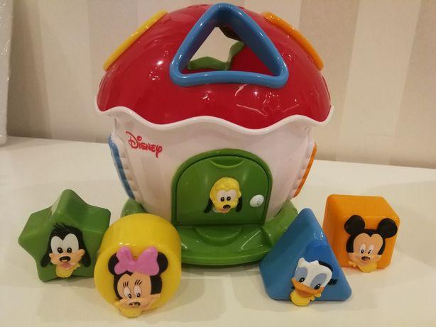 Sorter, domek z klockami Disney