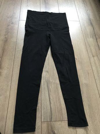 Leginsy spodnie ciążowe rozmiar M 38 HM mama czarne +gratis