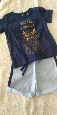 Conjunto -calção e t-shirt -LaRedoute