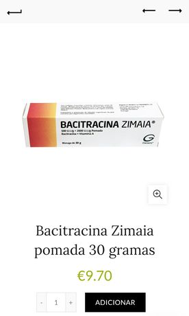 Pomada Bacitracina