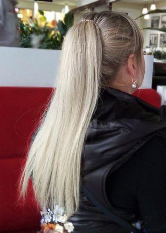 ПОДАРОК Хвост, шиньон, трессы из натуральных волос купить Украина