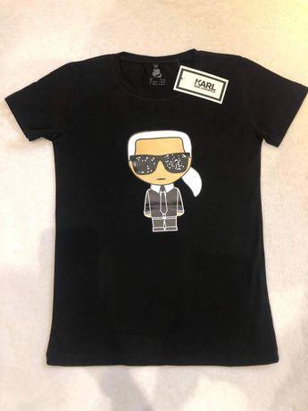 Śliczne damskie koszulki Karl