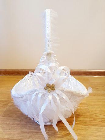 Корзина для квітів або цукерок на весілля
