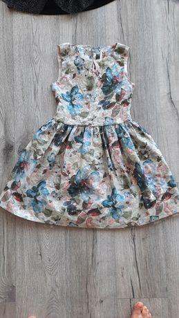 Нарядное платье next на девочку р134