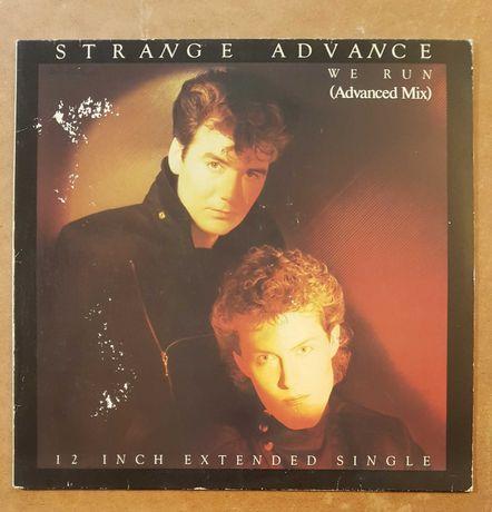 Strange Advance - We Run, maxisingiel 12