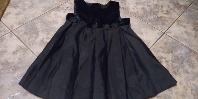 Sukienka 80cm -9/12miesiecy za 10zł