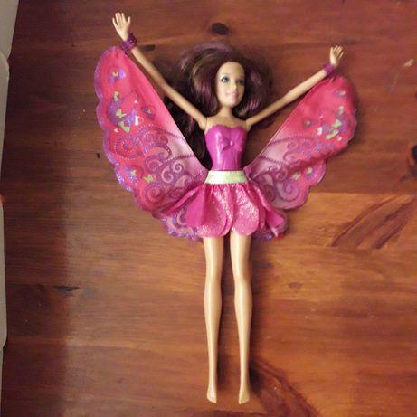 lalka barbie, wróżka, ze skrzydłami