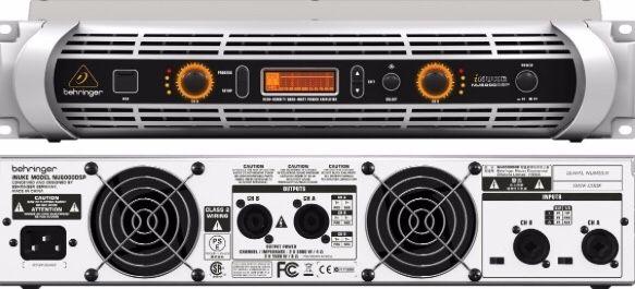 Amplificador digital - Behringer Inuke Nu6000dsp