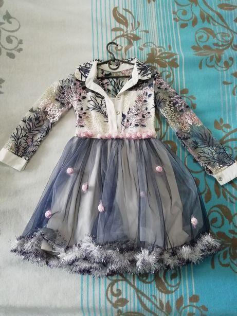 Нарядное платье 7 лет