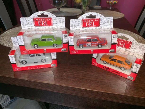 Kolekcja PRL auta