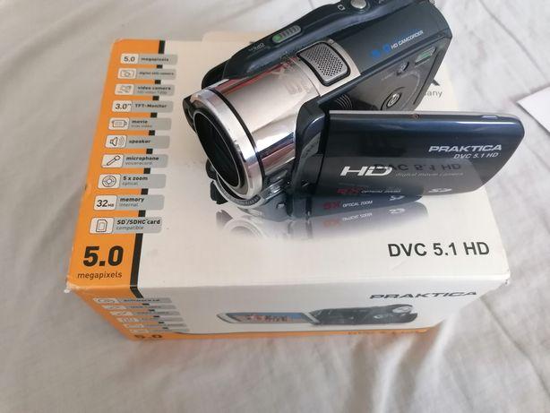 Câmera de filmar e tirar fotografias Praktica DVC 5.1 HD
