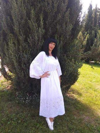 Продам плаття білий лен