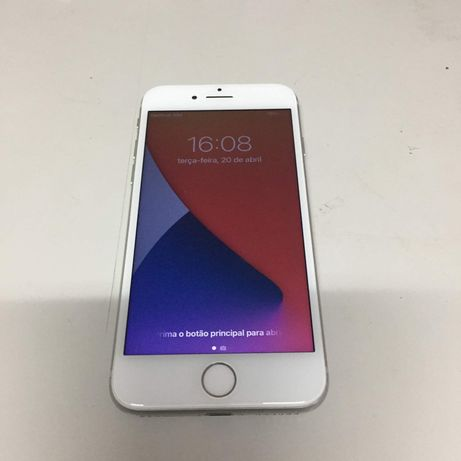 iPhone 8 Branco / Preto 64GB Desbloqueado