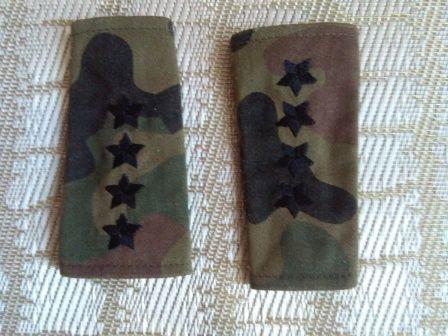 pochewki do munduru polowego kapitan