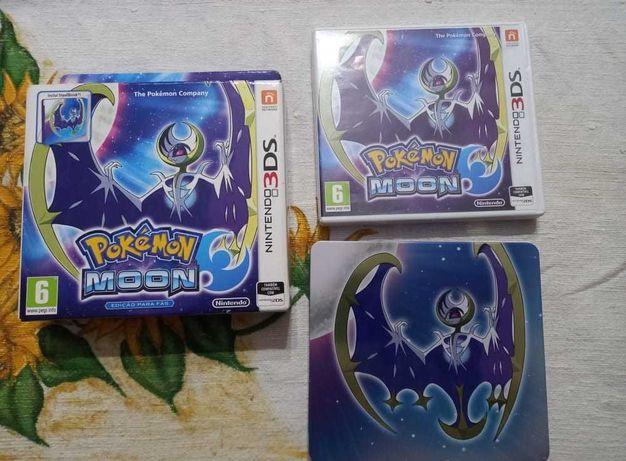 Pokemon Moon (Steelbox Edition)   Nintendo 3DS   Completo