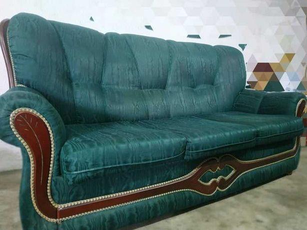 Sofá-cama vintage para sala de estar