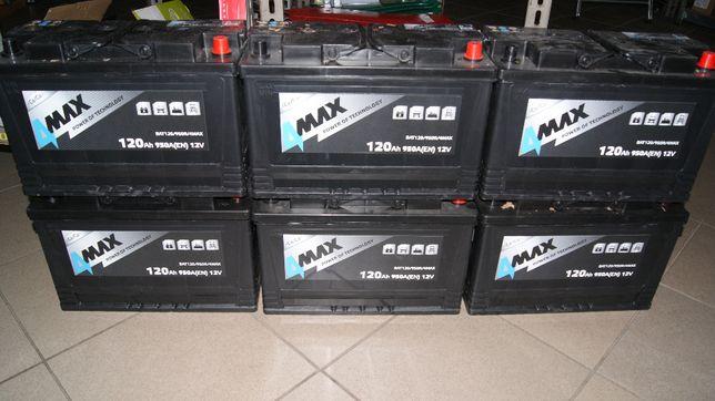 Akumulator Ursus C-330/C-360 12v/120ah/950a P+ Jeden zamiast dwóch