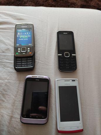 Sprzedam zestaw telefonów w super stanie.