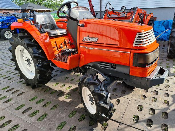 Mini Traktor Kubota X20. Ogrodniczy,mały traktorek,ciagnik