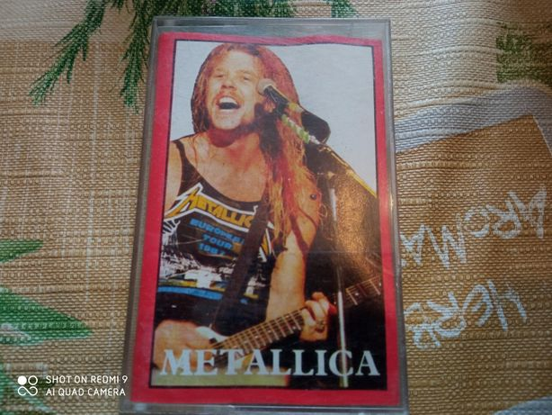 Metallica - Jump In The Fire. Kaseta magnetofonowa