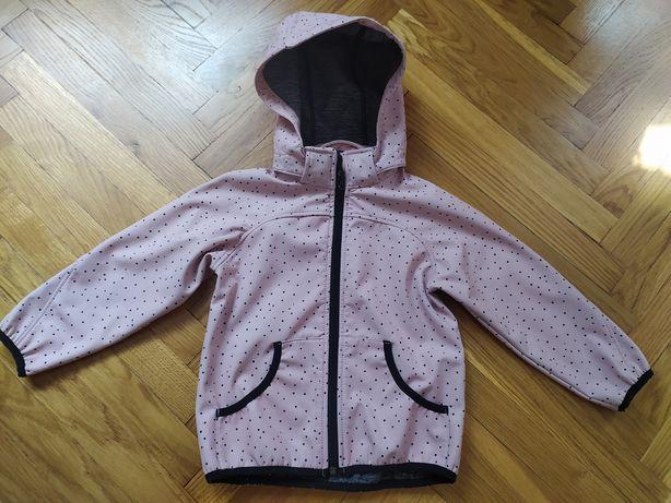 Kurtka typu softshell dla dziewczynki firmy H&M rozmiar 104