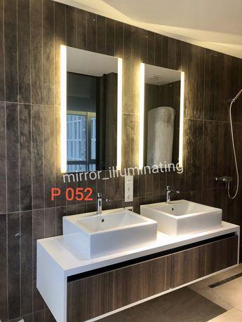 Зеркало с подсветкой. Зеркало для ванных комнат.