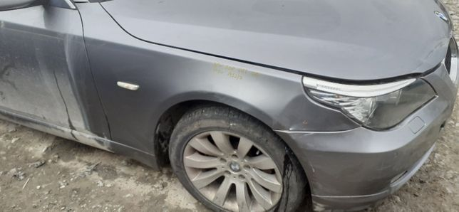 BŁOTNIK Prawy Przedni Przód BMW 5 E60 E61 LIFT 07r-10r A52/7