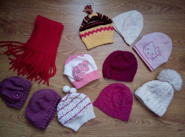 шапка шарф на вік 5-12років