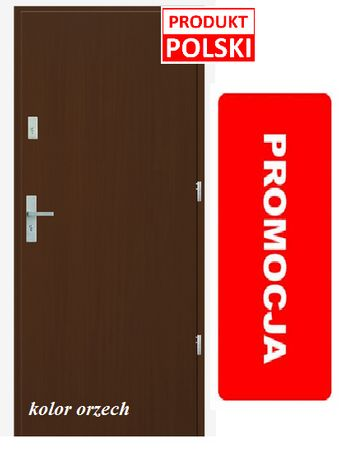 Drzwi zewnętrzne, wejściowe do mieszkania w bloku