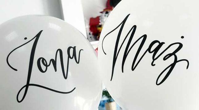 Balony mąż, żona