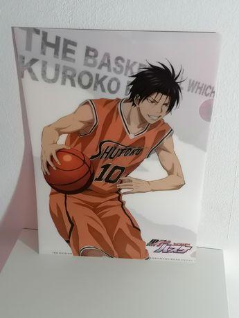 Clear files folders (capas transparentes) Kuroko no basket e B Project